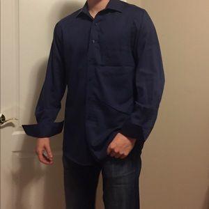 Van Huesen Blue Dress Shirt